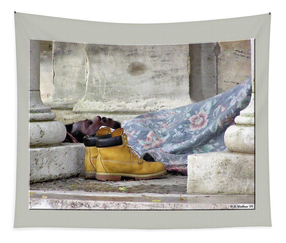 2d Tapestry featuring the photograph To Sleep Perchance To Dream by Brian Wallace