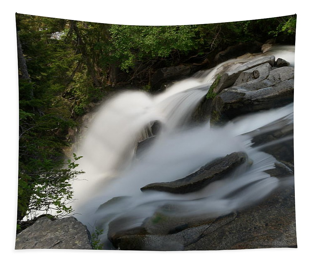 Water Tapestry featuring the photograph Top Of The Washington Cascades by Jeff Swan