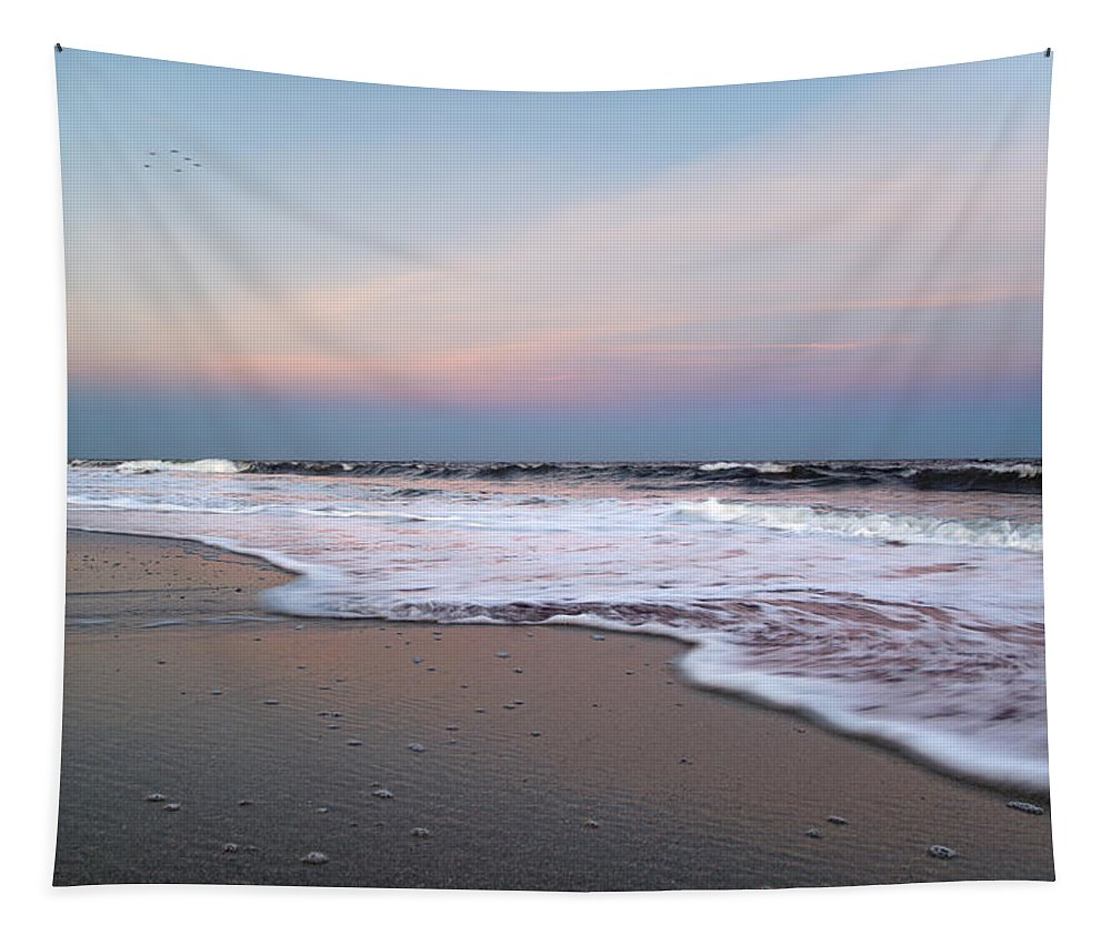 Topsail Tapestry featuring the photograph Topsail Dome-esticated Evening by Betsy Knapp