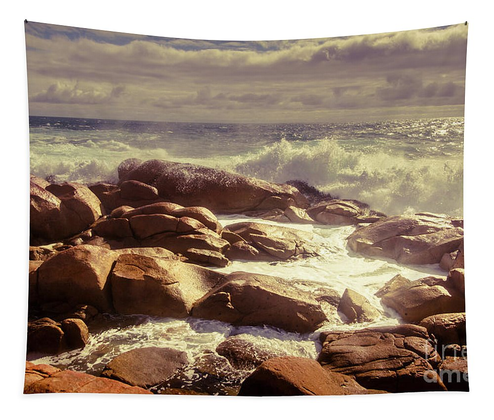 Tranquil Tapestry featuring the photograph Tranquil Ocean Views by Jorgo Photography - Wall Art Gallery