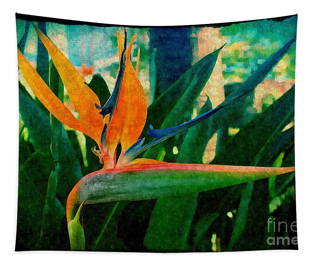 200 Views Tapestry featuring the photograph Tropical Eden by Jenny Revitz Soper