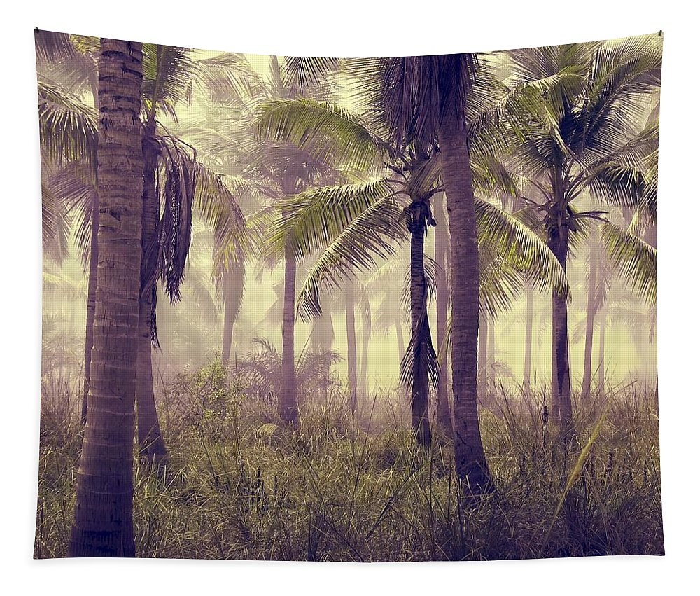 Tropical Forest Tapestry featuring the photograph Tropical Forest by Marianna Mills