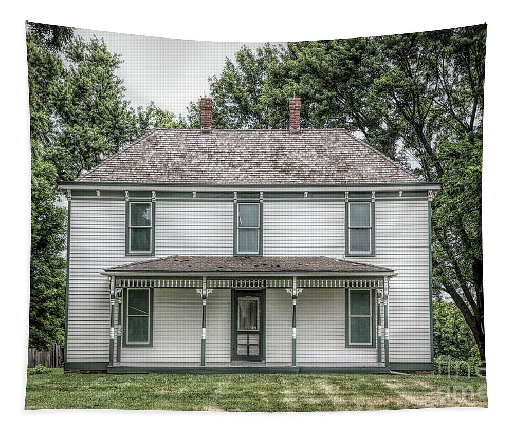 Harry S Truman Tapestry featuring the photograph Truman Farm by Lynn Sprowl