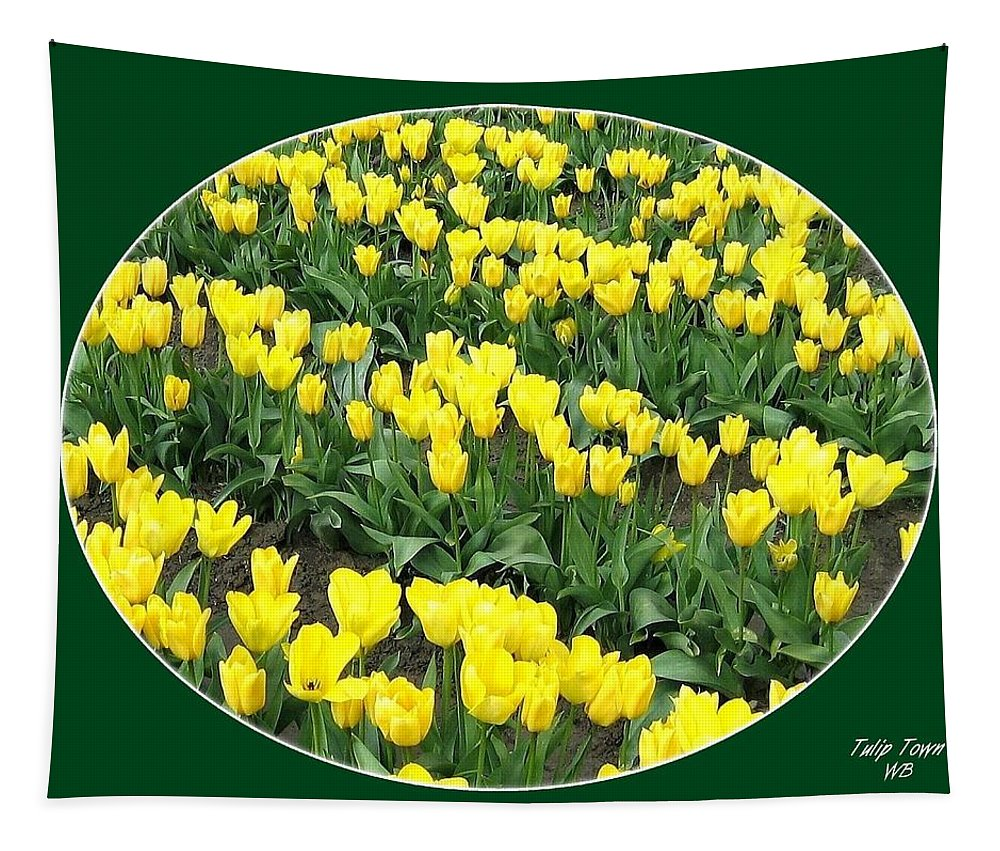 Agriculture Tapestry featuring the photograph Tulip Town 2 by Will Borden