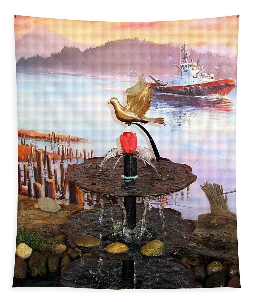 Agriculture Tapestry featuring the photograph Tulip Town 20 by Will Borden