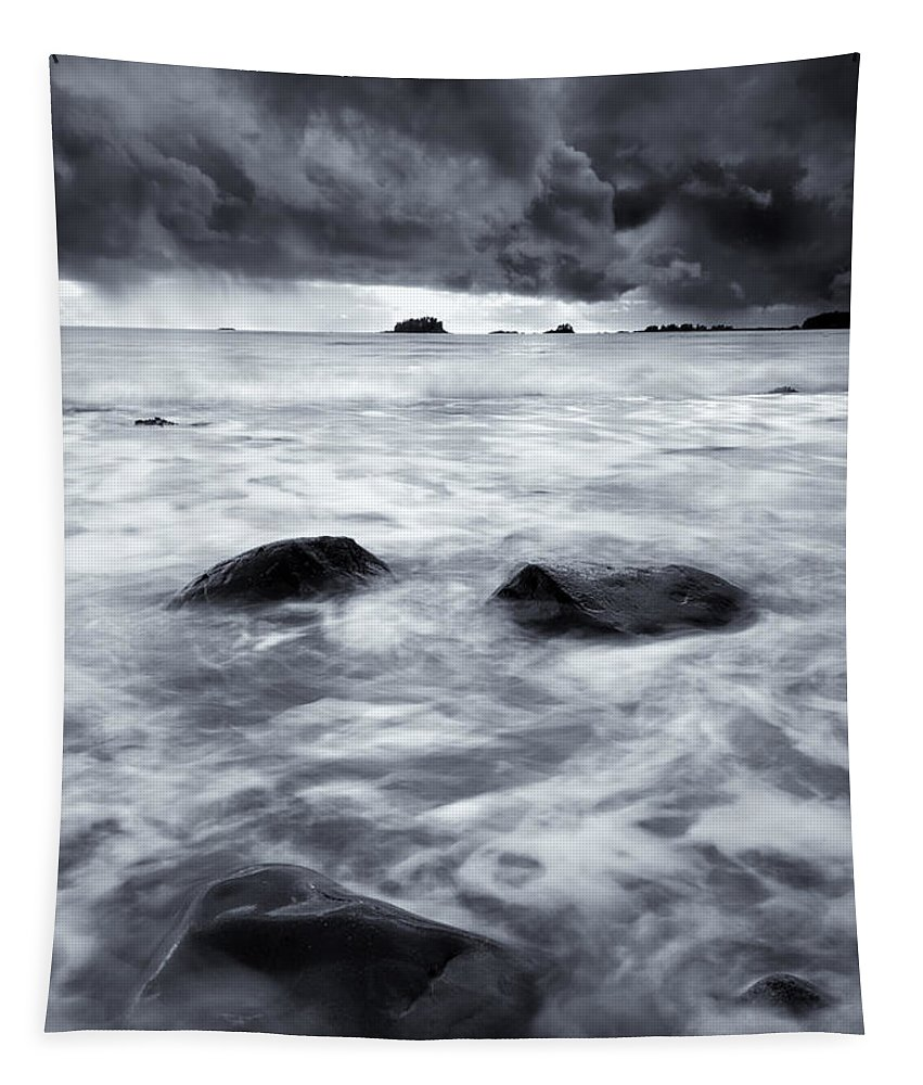 Sitka Tapestry featuring the photograph Turbulent Seas by Mike Dawson