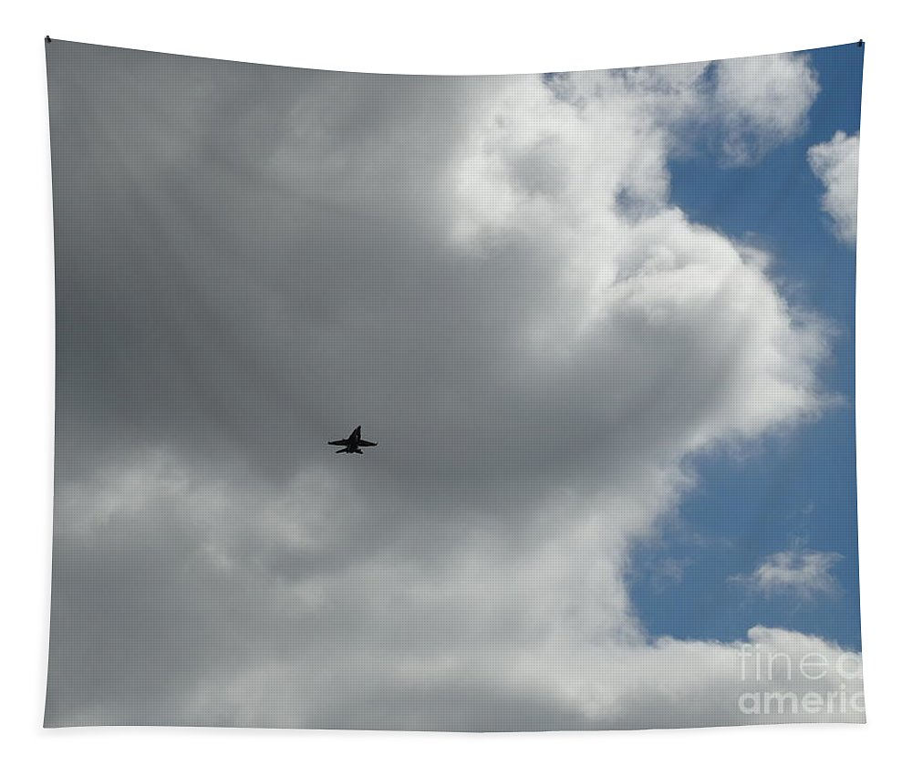 Tapestry featuring the photograph Us Navy Blue Angels Air Show Photo 4 by Joseph Baril