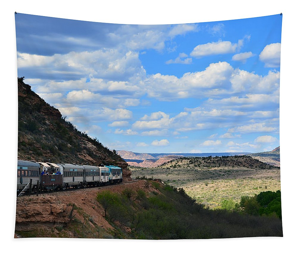 Desert Tapestry featuring the photograph Verde Canyon by Aimee L Maher ALM GALLERY
