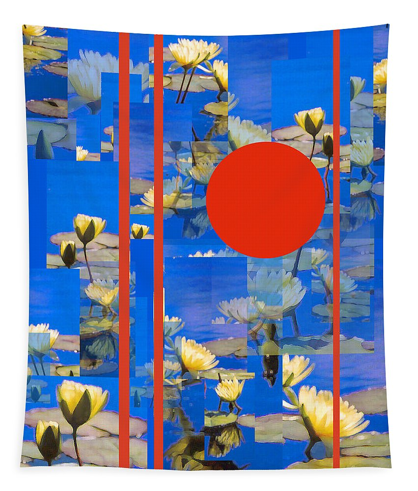Flowers Tapestry featuring the photograph Vertical Horizon by Steve Karol