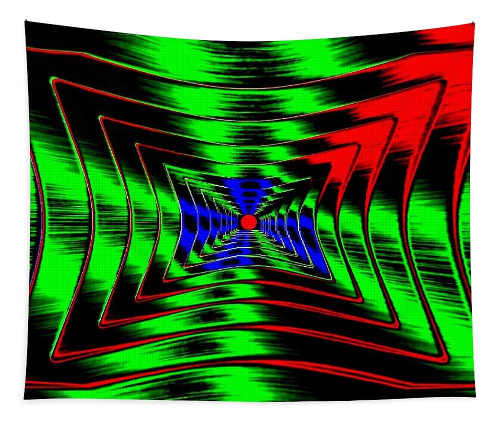 Energizing Tapestry featuring the digital art Vim And Vigor by Will Borden