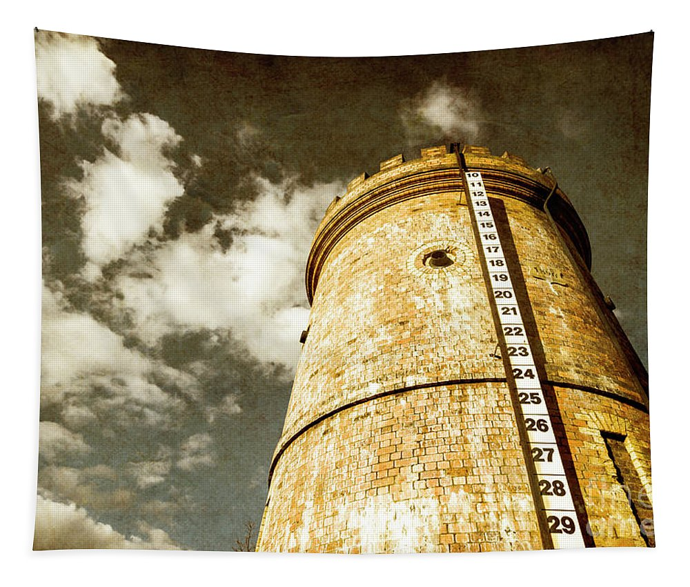 Vintage Tapestry featuring the photograph Vintage Evendale Water Tower by Jorgo Photography - Wall Art Gallery