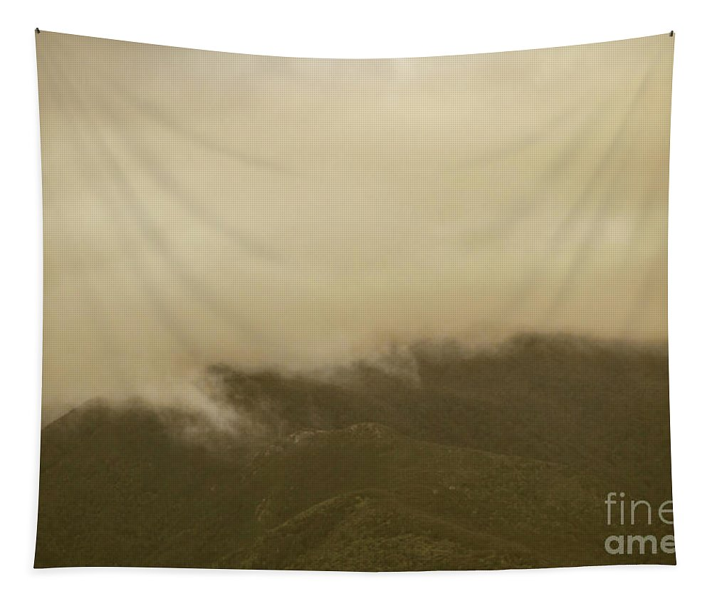 Old-fashioned Tapestry featuring the photograph Vintage Mountains Covered By Cloud by Jorgo Photography - Wall Art Gallery