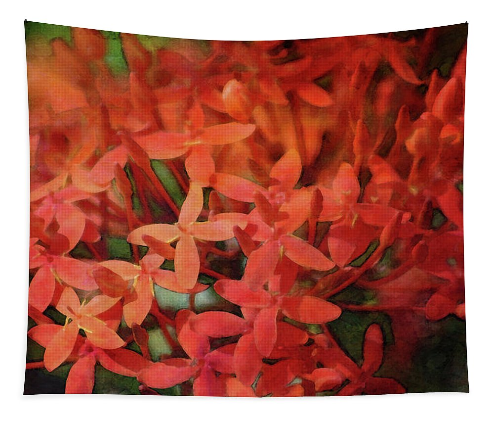 Impression Tapestry featuring the photograph Warming 8363 Idp_2 by Steven Ward
