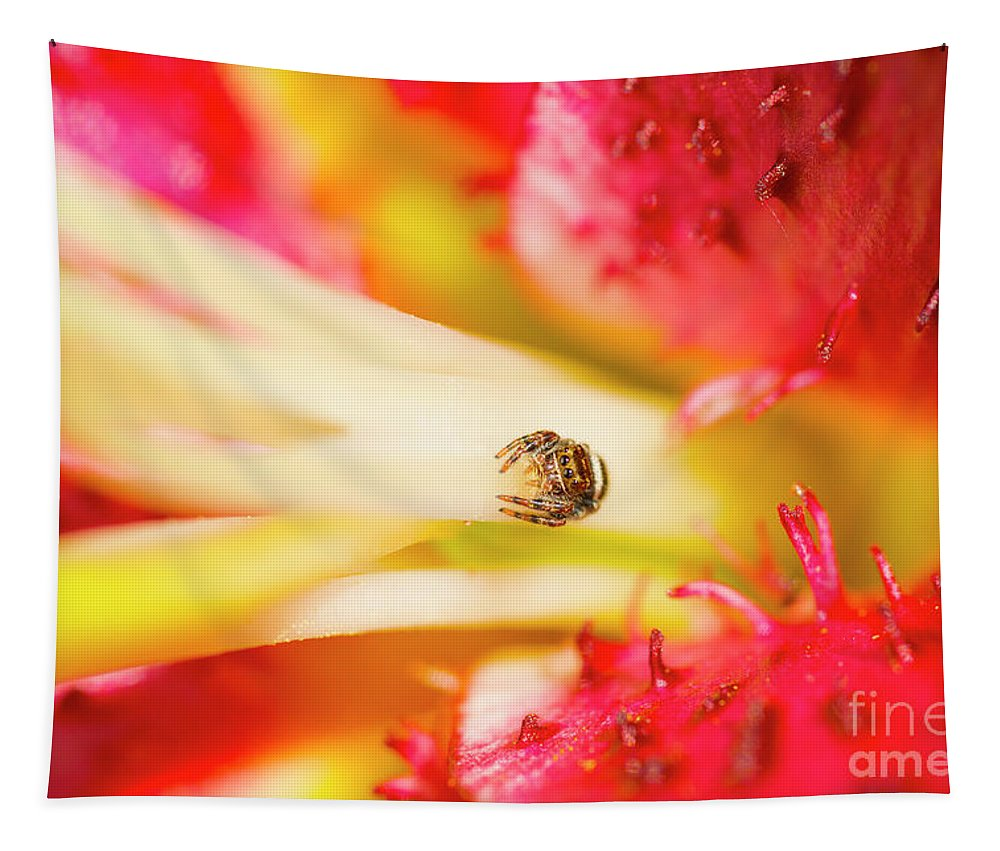 Tulip Tapestry featuring the photograph Watching Me by Paul W Faust - Impressions of Light
