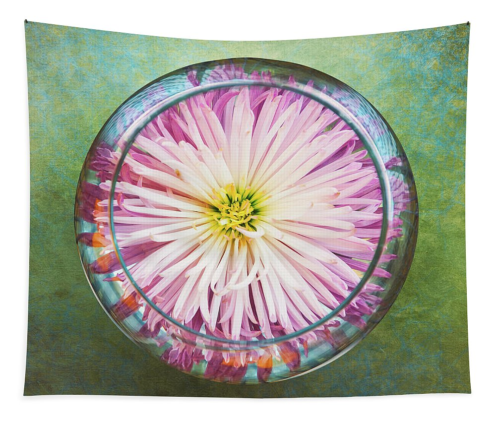 Flower Tapestry featuring the photograph Water Flower by Scott Norris