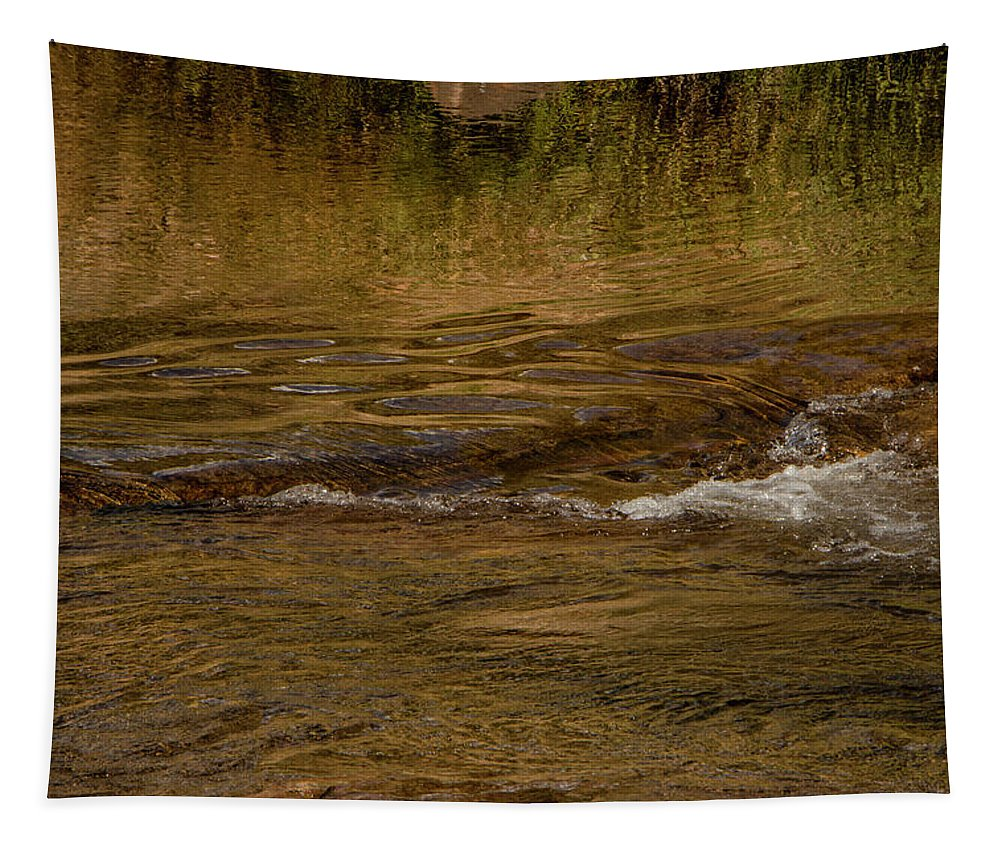 Arizona Tapestry featuring the photograph Water Reflection by Teresa Wilson