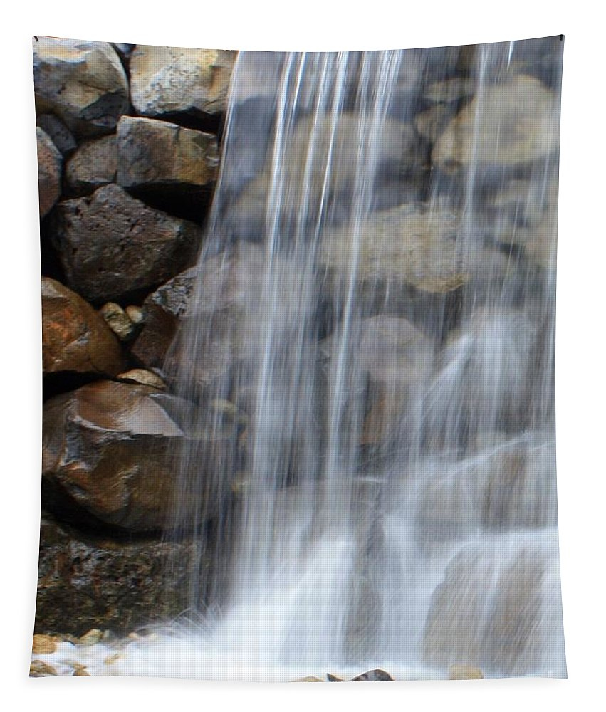 Waterfall Tapestry featuring the photograph Waterfall 1 by Carol Groenen