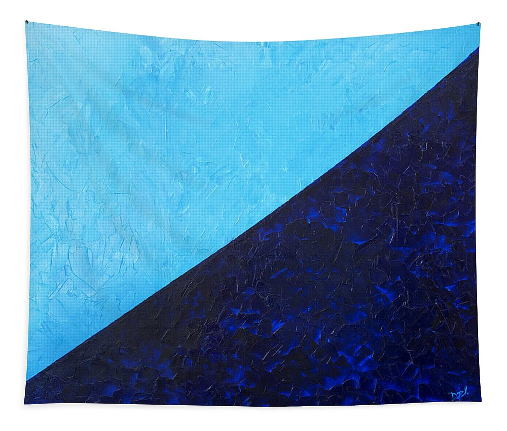 Impasto Tapestry featuring the painting Water's Edge by JoAnn DePolo