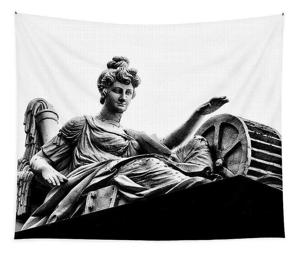 Goddess Tapestry featuring the photograph Waterworks Goddess by Bill Cannon