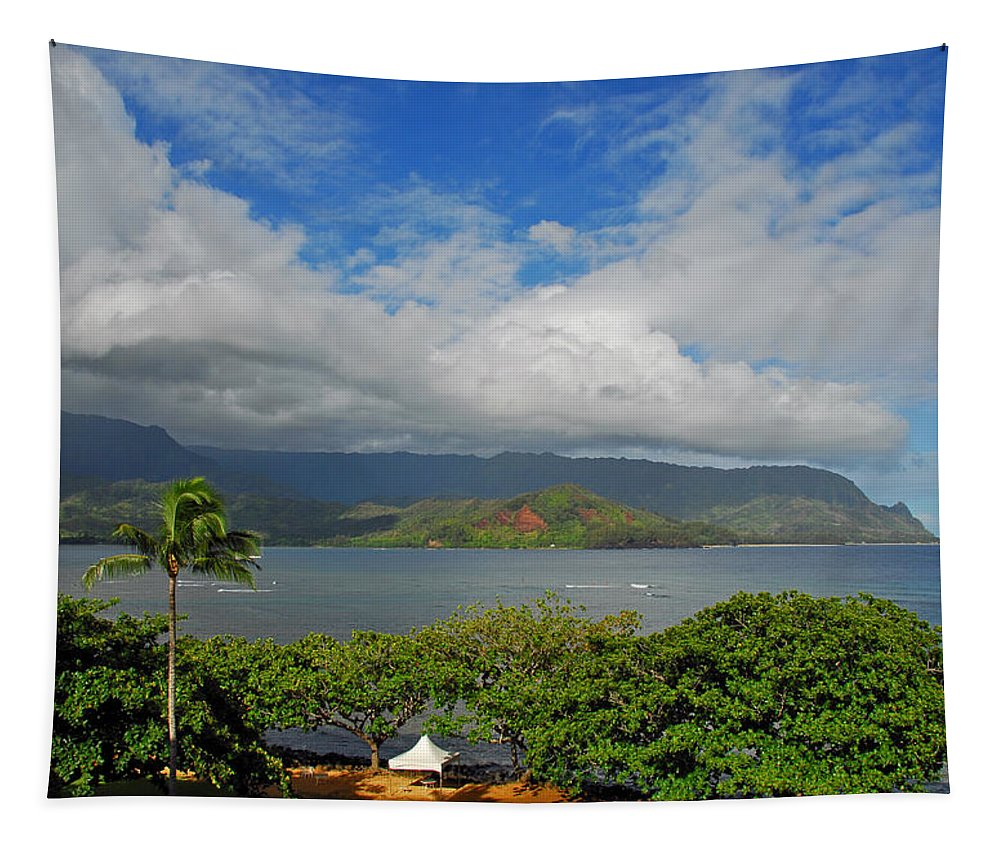 Kauai Tapestry featuring the photograph Wedding Day by Lynn Bauer