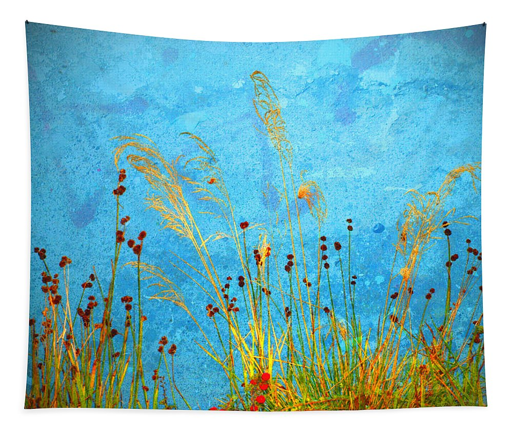 Weeds Tapestry featuring the photograph Weeds And Water by Tara Turner