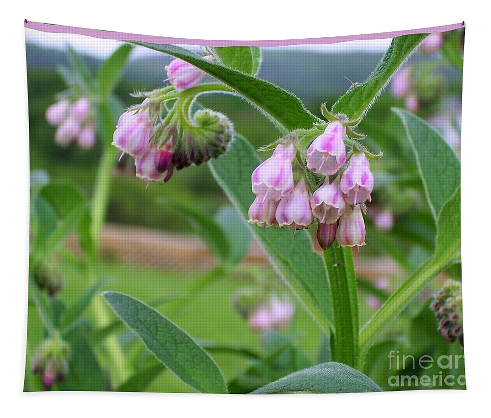Flower Tapestry featuring the photograph Weeds by Linda Galok