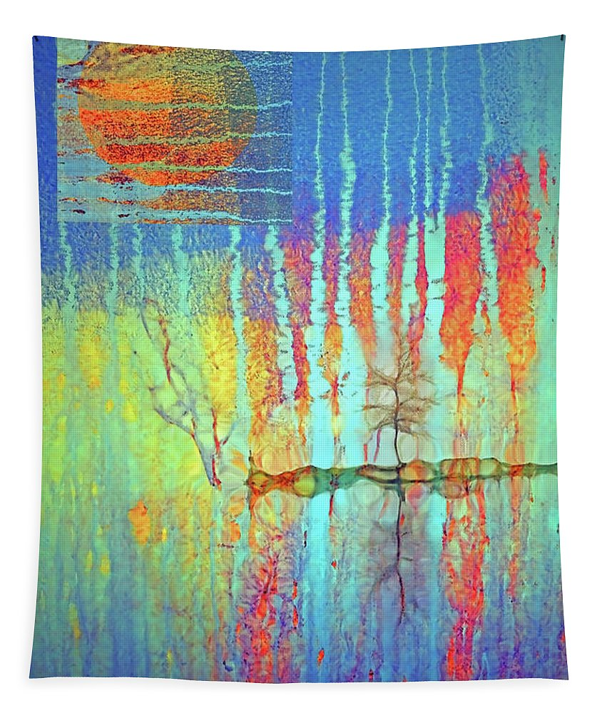 Streaks Tapestry featuring the photograph Where Have All The Trees Gone? by Tara Turner