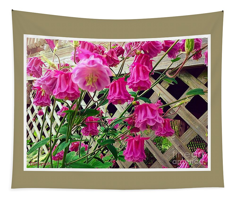 Deep Tapestry featuring the photograph Wild Pink Beauty by Debra Lynch