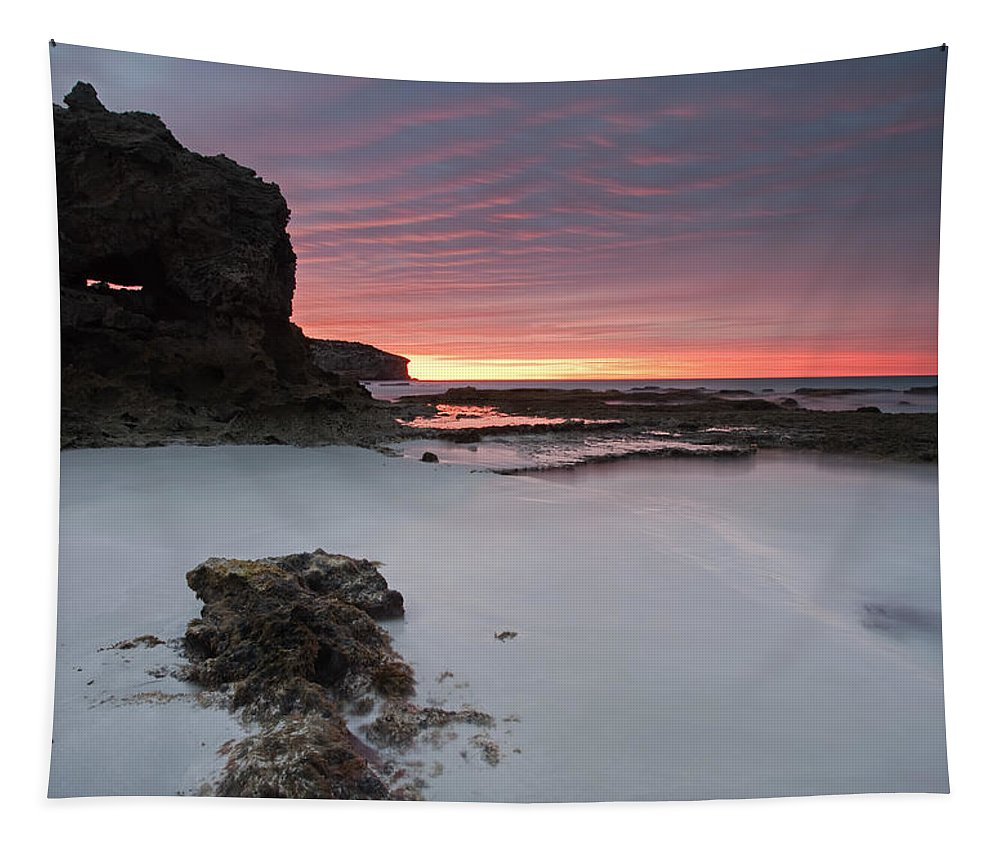 Sunrise Tapestry featuring the photograph Window On Dawn by Mike Dawson