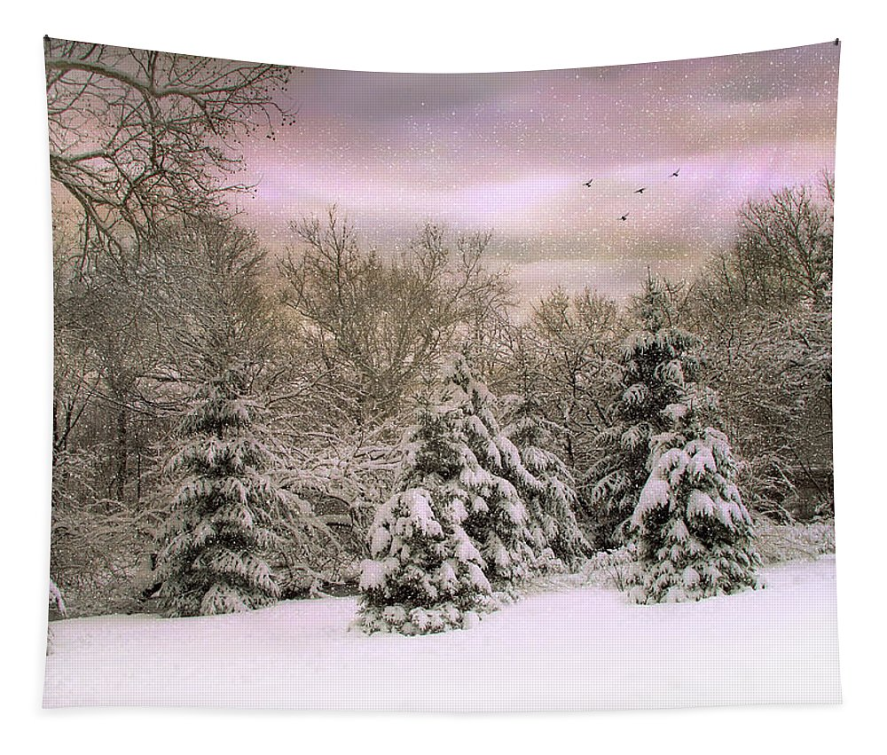 Winter Tapestry featuring the photograph Winter Twilight by Jessica Jenney