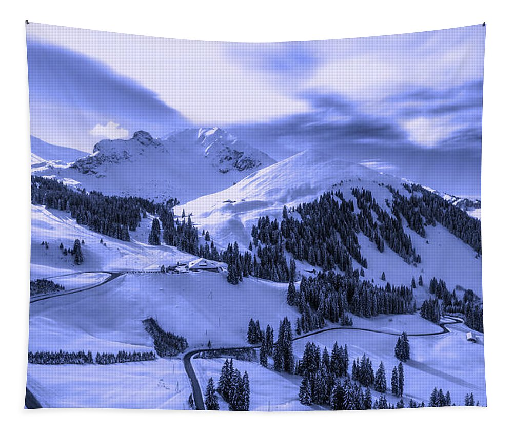 Winter Tapestry featuring the photograph Winter Vista by Fabian Schneiter