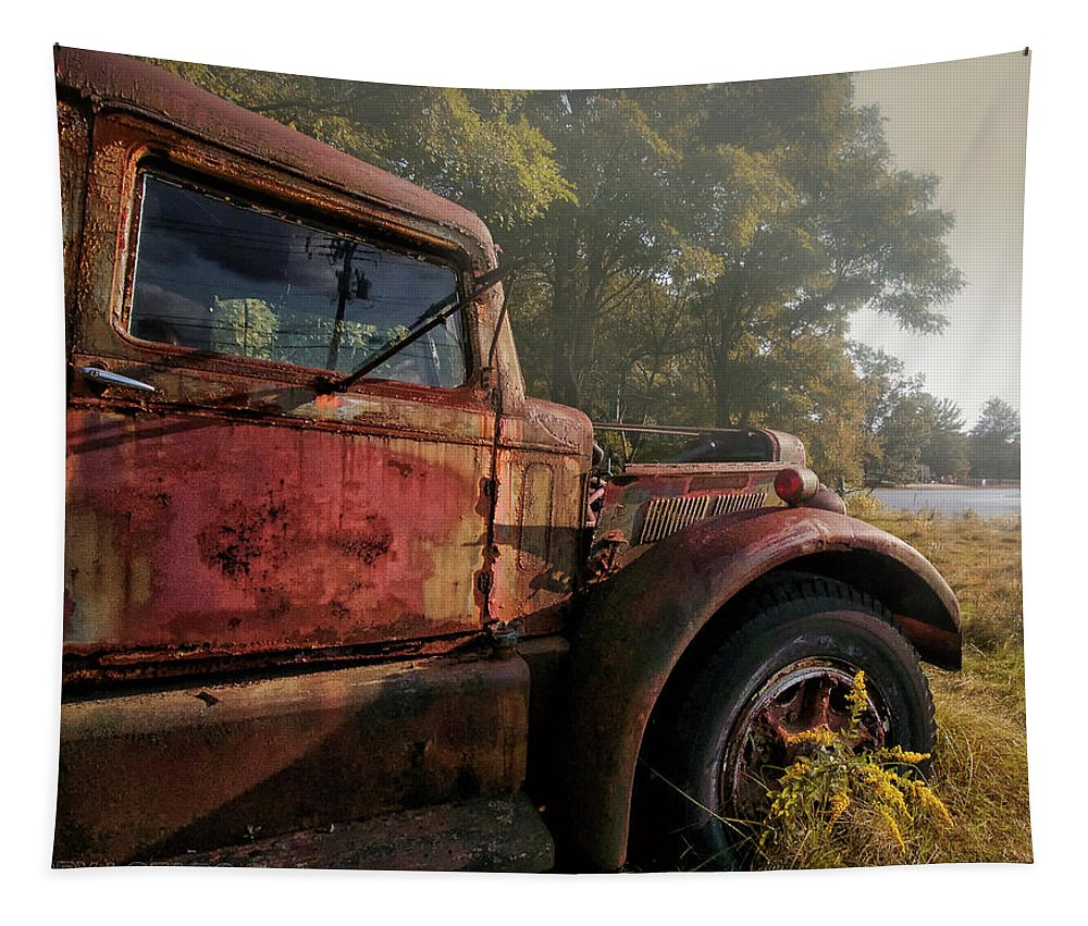 Truck Tapestry featuring the photograph Wishful Thinking by Jerry LoFaro