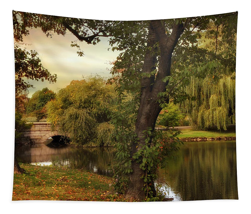 Woodlawn Tapestry featuring the photograph Woodlawn Wonder by Jessica Jenney