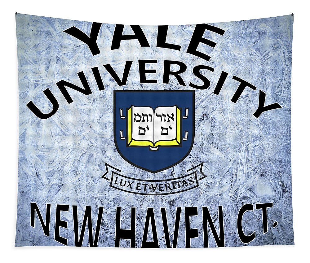 Yale Tapestry featuring the digital art Yale University New Haven Ct. by Movie Poster Prints