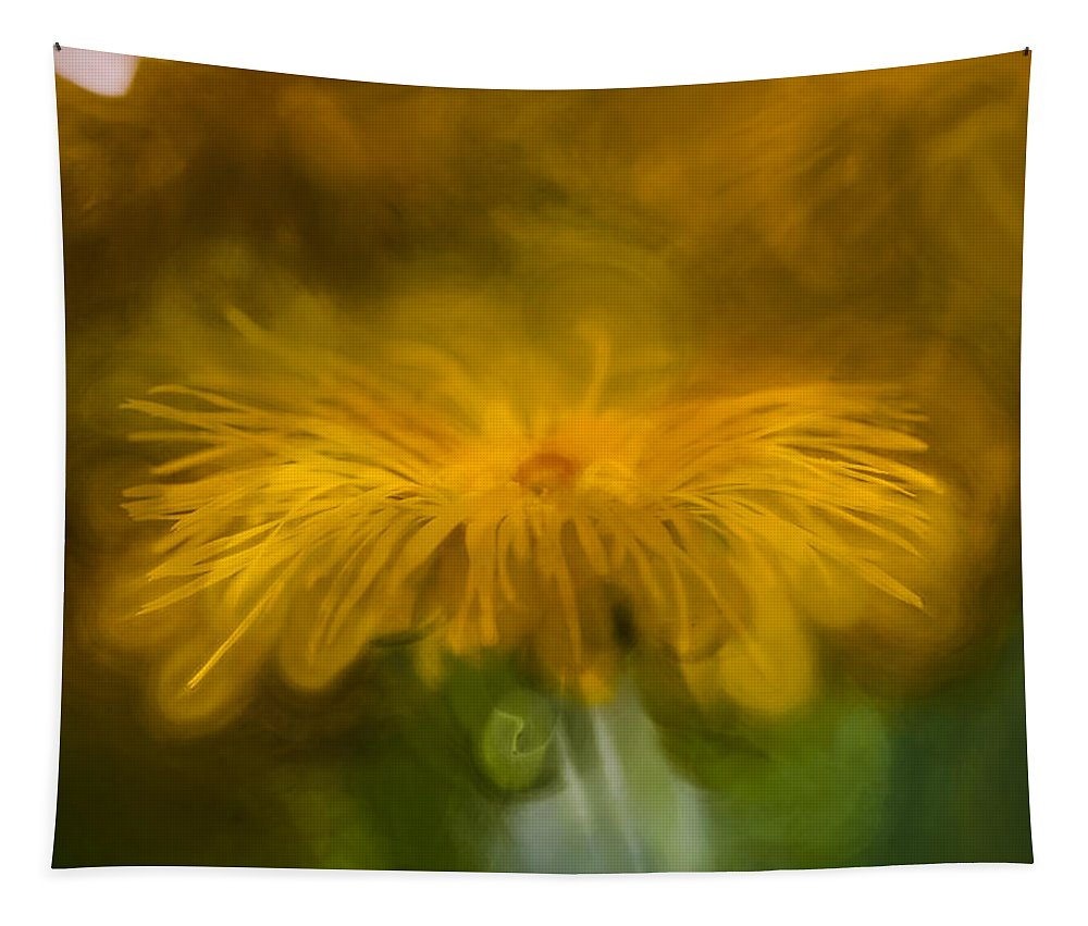 Artistic Tapestry featuring the photograph Yellow 3 by Leif Sohlman