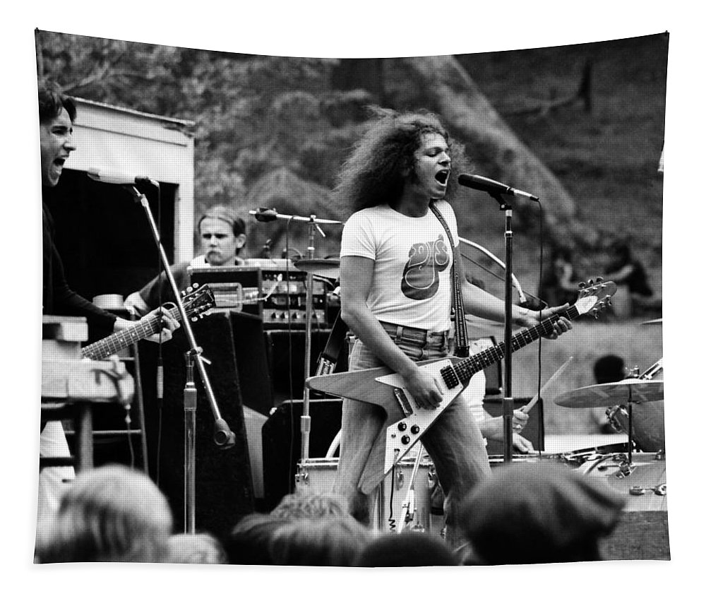 Classic Rock Tapestry featuring the photograph Ynt #9 Crop 3 by Ben Upham