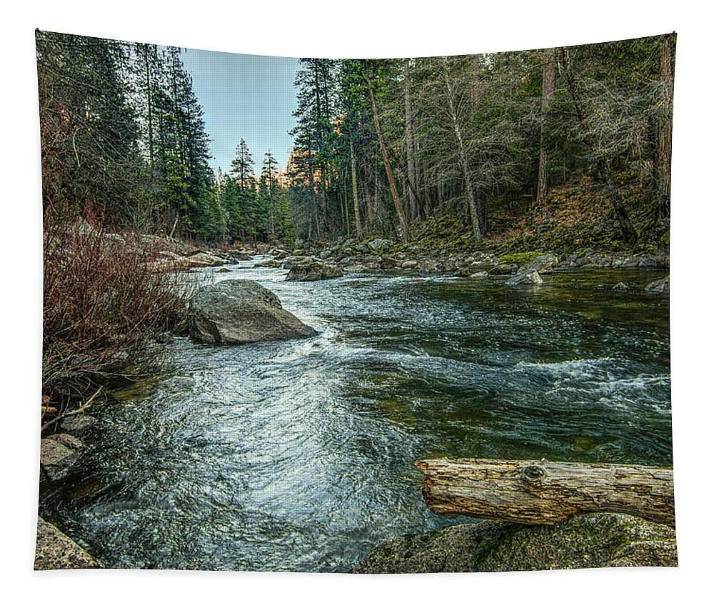 Yosemite National Park Tapestry featuring the photograph Yosemite #1 by Patti Deters