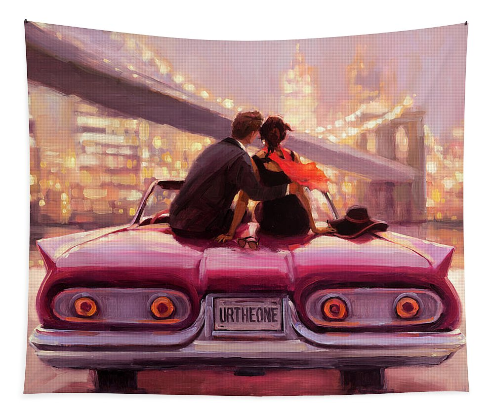 Love Tapestry featuring the painting You Are the One by Steve Henderson