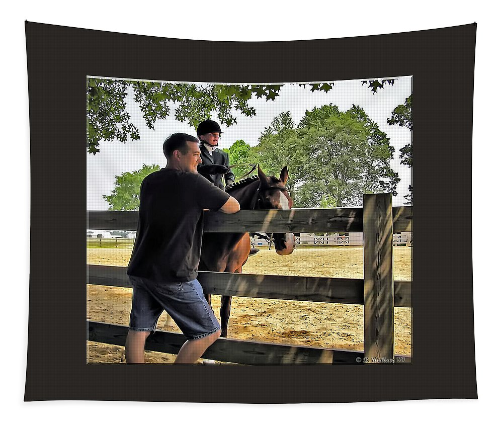 2d Tapestry featuring the photograph You Got This by Brian Wallace