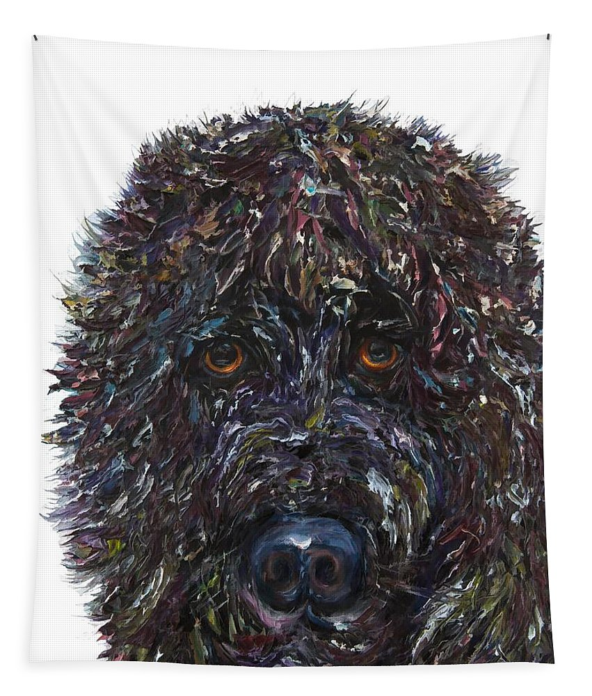 Got A Friend Tapestry featuring the painting You've Got A Friend In Me by OLena Art Brand