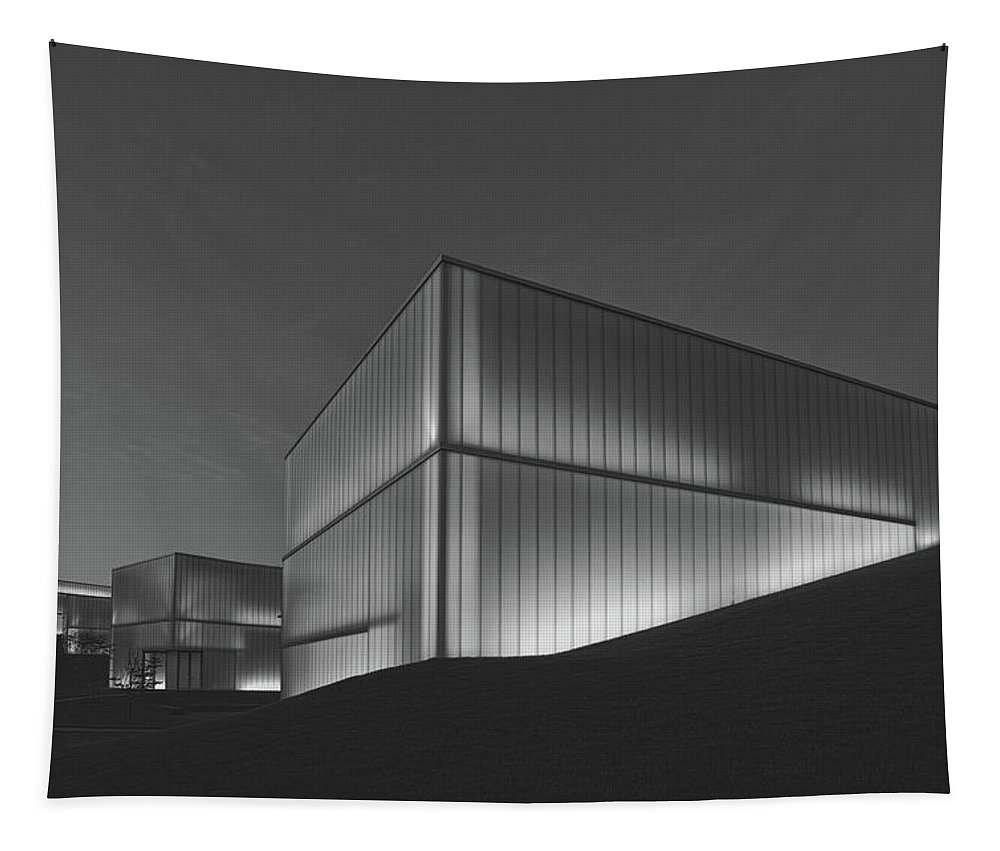 Bloch Building Tapestry featuring the photograph An Evening At The Nelson - Atkins Art Museum by Mountain Dreams