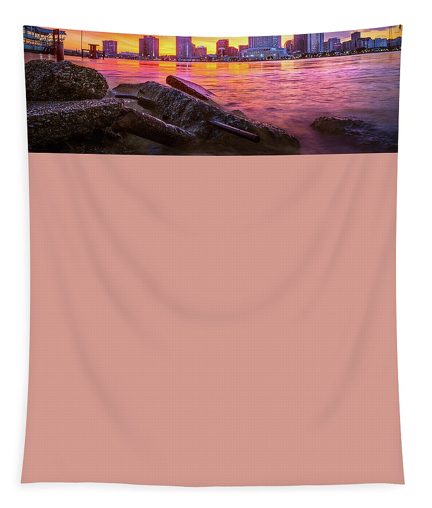 New Orleans Tapestry featuring the photograph New Orleans Sunset by Chase This Light Photography