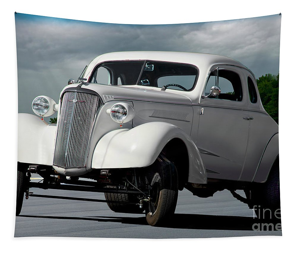 1937 Chevrolet 'gasser Style' Coupe Tapestry