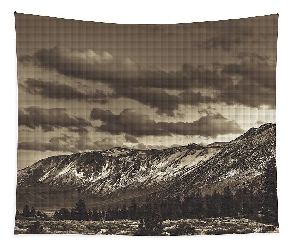 Mammoth Lakes Tapestry featuring the photograph Somewhere In California by Mountain Dreams