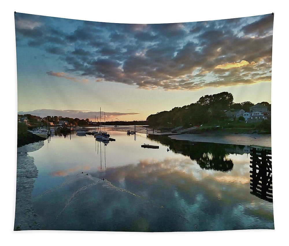 River Tapestry featuring the photograph The Bass River by Scott Hufford