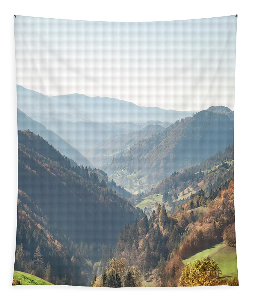 Kremsdorf Tapestry featuring the photograph Adagio Of The Highlands by Evelina Kremsdorf