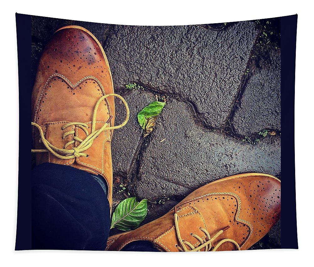 Shoes Tapestry featuring the photograph Afternoon Delight by Mark Ddamulira