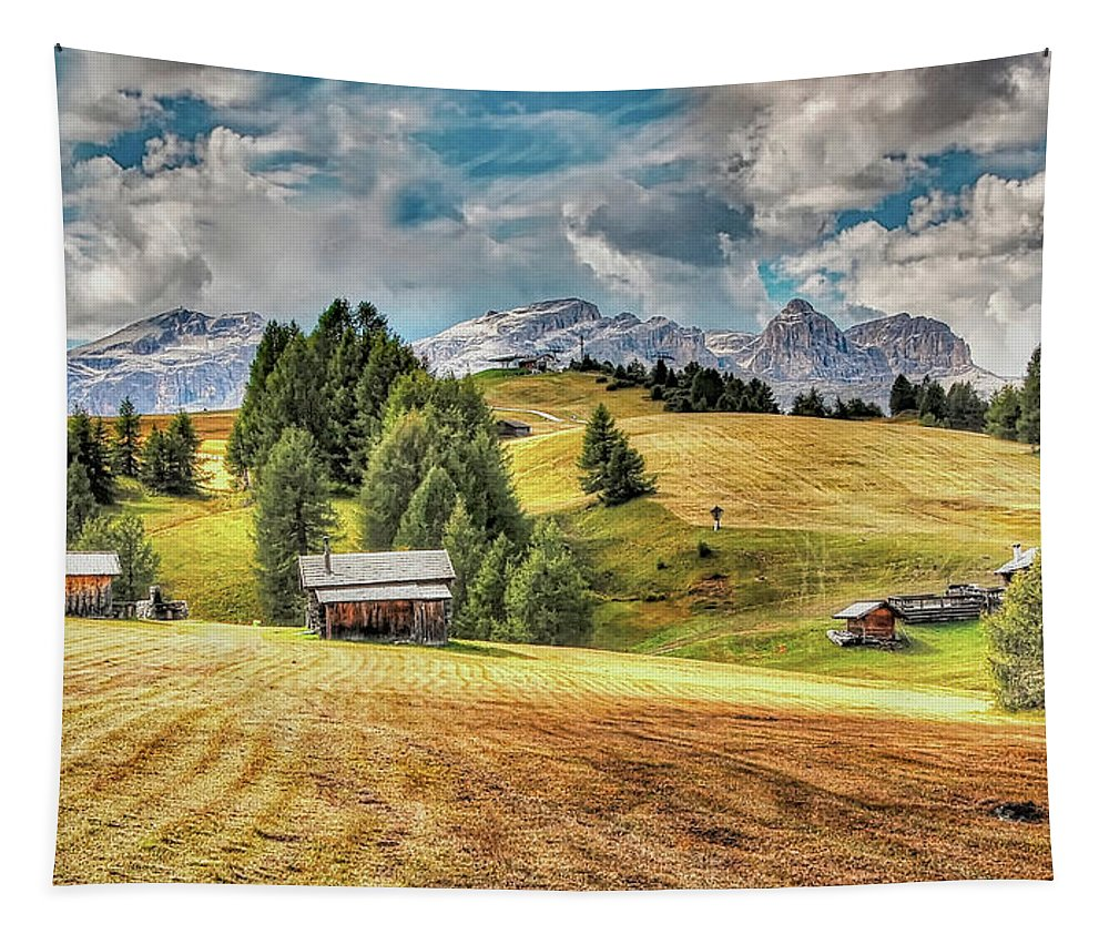 Italy Tapestry featuring the photograph Alpine Beauty by Pixabay