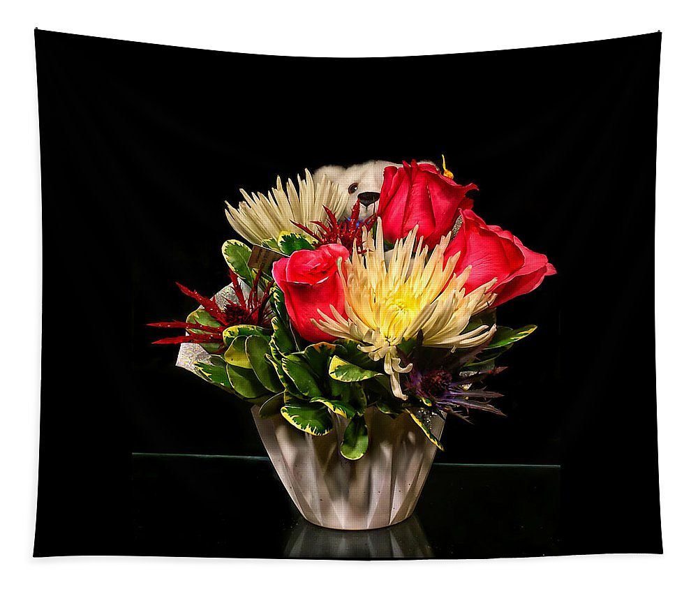 Floral Bouquet Tapestry featuring the photograph Friendship Bouquet by Catherine Melvin