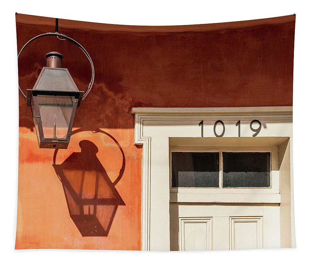 New Orleans Tapestry featuring the photograph French Quarter Shadows by Chase This Light Photography